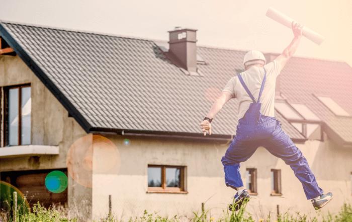 satisfied new home buyer