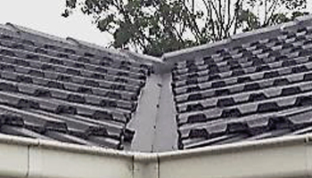 roof gutter defect in melbourne