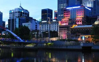 yarra river and buildings