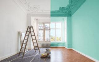 house undergoing renovation