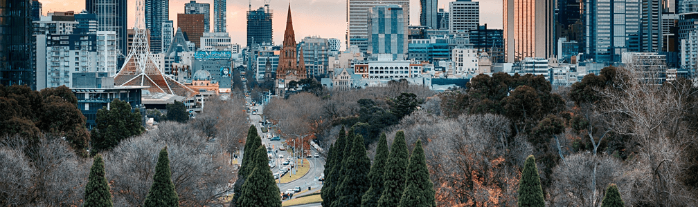 melbourne city landscape