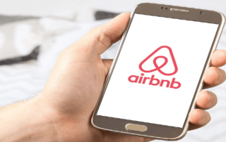 airbnb app on mobile