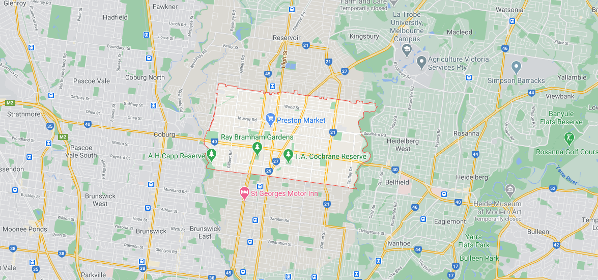 building and pest inspections map preston