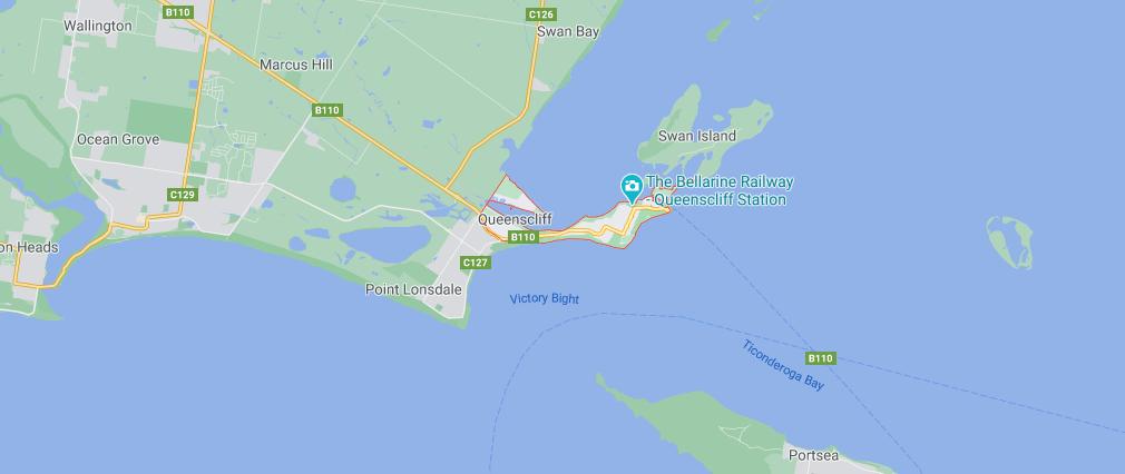 queenscliff inspections map